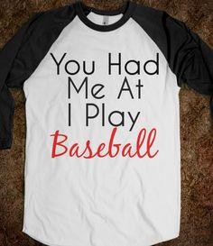 Baseball boys....Yes. Playing baseball makes you 10x more attractive;)