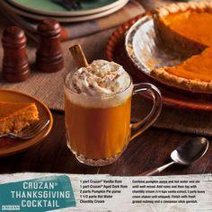 Cruzan thanksgiving cocktail