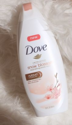 "This new limited edition @Dove ""Snow Blossom"" Nourishing Body Wash is so divine ✨it's full of   and  #RealBeauty #BeautyPickoftheWeek"