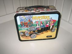 Munsters metal lunch box