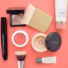 The easy foundation routine for a long weekend.