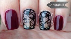 Fall Floral Design with Negative Space … No Stamps? No Problem!