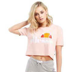 Ellesse Cortina Crop T-Shirt | JD Sports