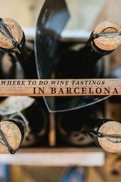 Looking for the best places to do a wine tasting in Barcelona? Look no further! Whether a newbie or an expert, you will love these Barcelona wine tastings! Wine Tasting Course, Wine Tasting Events, Margaret River Wineries, Wine Coolers Drinks, Sangria Wine, Spanish Wine, Spanish Food, Expensive Wine, Travel