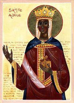 St. Adela of Pfazel pray for us.  Feast day December 24.