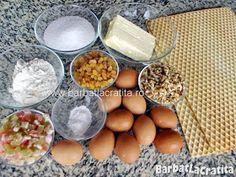 Prajitura cu foi de napolitana Rumba Ingrediente Dairy, Eggs, Cheese, Breakfast, Morning Coffee, Egg, Egg As Food