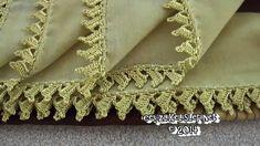 Yeni Tığ Oyası Tülbent Modeli - Crochet Lace Scarf New Model