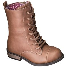Toddler Girl's Cherokee® Davianna Fashion Boots - Brown These boots are absolutely darling! Bought them for Snugs & she loves them! Toddler Boots, Baby Boots, Baby Girl Shoes, Kid Shoes, Girls Shoes, Kids Boots, Toddler Girl Style, Toddler Girl Outfits, Toddler Fashion