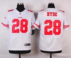 60165bf512e Men 28 Carlos Hyde Jersey Football San Francisco 49ers Jersey