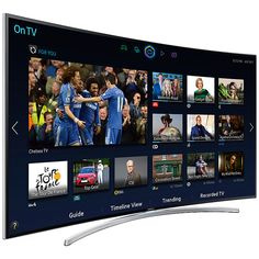 Samsung Curved LED TV . Model : UA65H8000AR .  Product Features : • Smart Interaction, Smart Hub • Smart Evolution, Micro Dimming Ultimate • Screen Mirroing, Full HD 3D • Quad Core Plus