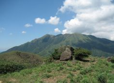 Hiking: Discovery Bay to Mui Wo and back - Lantau Peak from a distance