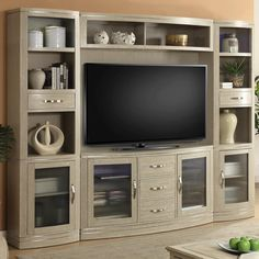 Cosmopolitan 4 Piece Entertainment Wall by Parker House at Del Sol Furniture