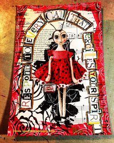 Art journal Pages | Sandra Kaye | Bloglovin'