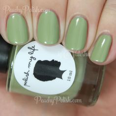 Polish My Life Retro Green Scene   Spring 2015 All Things Vintage Collection   Peachy Polish
