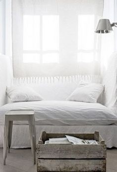 white nook and crate