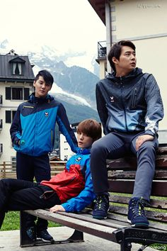 New Photos of JYJ for M-Limited 2013 Fall/Winter