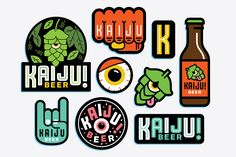 MIKEY BURTON — Kaiju! Beer