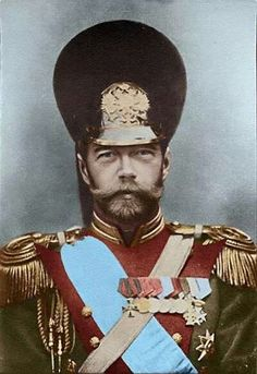 Nicholas II in Uniform Horse Grenadier Guards