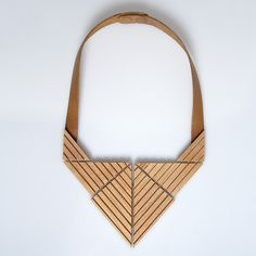 eleni dagaki wooden necklace