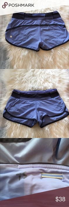 Lululemon speed shorts Lululemon speed shorts in great condition no flaws, but they do have initials on inside of of waist as shown lululemon athletica Shorts
