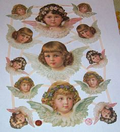 Newer Victorian German litho scrap diecuts by TheWisdomTree