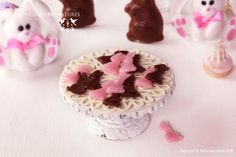 Easter Bunny Candy 1/12 scale dollhouse miniature - EASTER RANGE