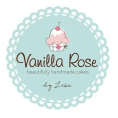 Vanilla Rose Cakes logo simply the bet Bakery Business, Business Logo, Business Card Design, Dessert Logo, Cupcake Logo, Bakery Names, Bakery Logo, Cake Branding, Branding Design