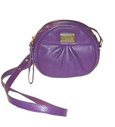 Marc by Marc Jacobs Classic Q Cara Round Leather Crossbody, Pansy Purple Marc by Marc Jacobs http://www.amazon.com/dp/B00SP046R0/ref=cm_sw_r_pi_dp_NS.Wub1EQZ8JT