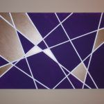 Wall Art Ideas Design Purple Rectangle Geometric Home Decoration Unique Crafthubs Brown Wallpaper Background Abstract geometric wall art metal diy