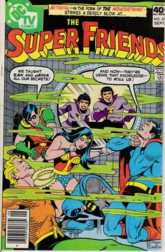 Super Friends 1976 DC 1st Series 11 September 1979 by ViewObscura