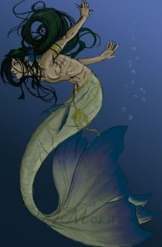Merman by Morwen65536.deviantart.com on @deviantART