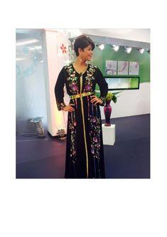 Une collection de caftans et takchitas haute couture Avec Leila Hadioui Tendance caftan 2016.
