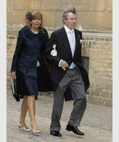 Leopold Prinz von Bayern mit seiner Frau Ursula