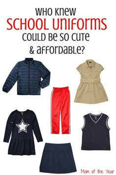 Finding a good deal on school uniforms shouldn't be too hard. There are many avenues you can go through to score cheap school uniforms. Find this Pin and more on Parenting by Parenting with Style. Finding a good deal on school uniforms shouldn't be too hard.