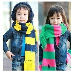 Ralph Lauren kids scarves