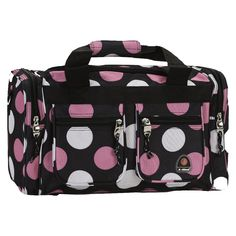 07f4d26ac97e Rockland 19 Duffel Bag - New Multi Pink Dot Luggage Backpack