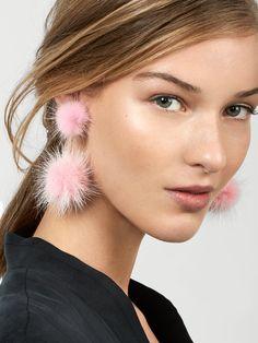 Gigi Pom Pom Earrings