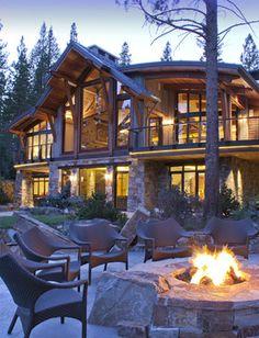 North Lake Tahoe residence, Kelly & Stone Architects.