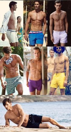 Men's Swimwear Recommendations 2014