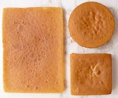One Easy Sponge Cake Three Different Desserts