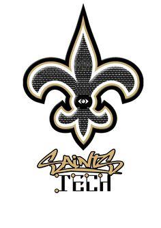 Robotic Team Logo Saints Tech