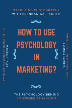 How to use psychology in marketing? And where does photography meet marketing and the psychology behind consumer behaviour? Consumer Marketing, Marketing Technology, Online Marketing Strategies, Digital Marketing Strategy, Marketing Ideas, Behavior Quotes, Health Psychology, Consumer Behaviour, I Need To Know