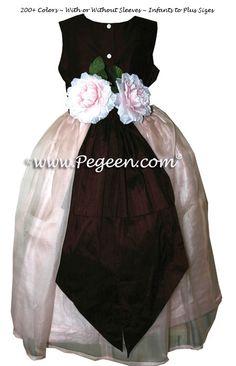 Petal Pink Flower Girl Dresses Style 369 by Pegeen