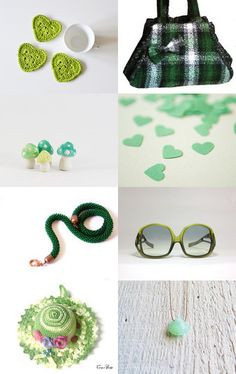 green ideas..... by Lorella on Etsy--Pinned with TreasuryPin.com