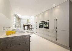 Specialist In Modern Kitchens, Devon Grey Stain, Modern, Kitchen Islands, Ash, Kitchens, Home Decor, Ideas, Style, Gray