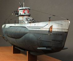 U-552 by Don Jamieson (Revell 172)