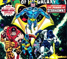 Marvel Presents - The Guardians of the Galaxy. Loved this lineup of the Guardians, and also characters added by Jim Valentino later solo book) Marvel Dc Comics, Marvel Comic Books, Fun Comics, Comic Book Heroes, Marvel Heroes, Marvel Characters, Comic Books Art, Comic Art, Marvel Movies