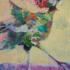 Robert Burridge   Circus Bird #4