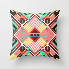 manifestation Throw Pillow by Danny Ivan - $20.00