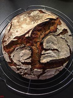 Carinthian farmer's bread … my variant in a pot Gourmet Sandwiches, Sandwich Bar, Healthy Sandwiches, Sandwiches For Lunch, Sandwich Recipes, Bread Baking, Food And Drink, Tonne, Versuch